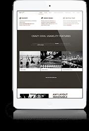 slide1 Mini iPad White Home v6: Classic 4 Column