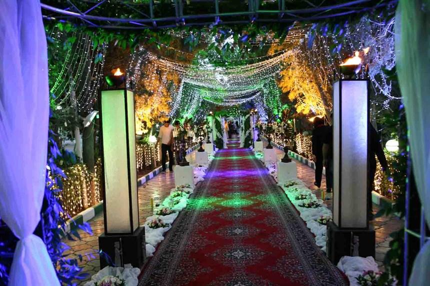 wedding hall1 تالارهای پذیرایی در محله کوهک
