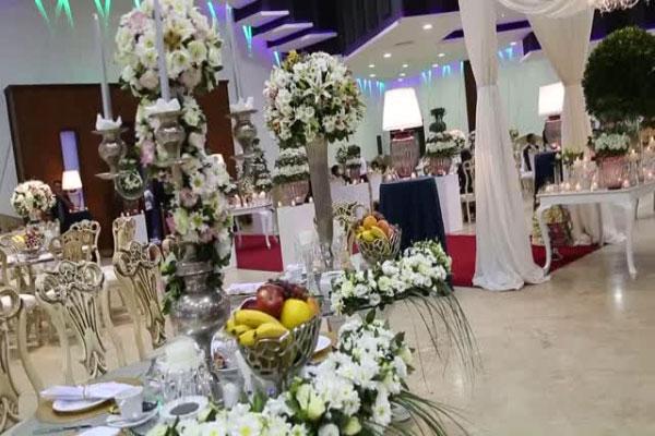 wedding hall3 1 تالارهای پذیرایی در محله کوهک