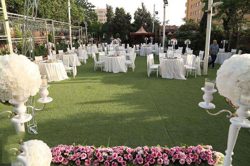 wedding hall5 تالارهای پذیرایی در محله کوهک