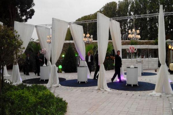 wedding hall6 تالارهای پذیرایی در محله کوهک